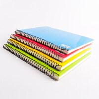 博士卡面螺旋笔记本 A5/B5型记事本日记本80页学生螺旋办公笔记本