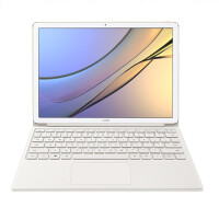 华为 MateBook E 12英寸二合一笔记本电脑(i5 256G Win10 内含键盘和扩展坞)钛银灰/金色