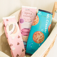 笔袋ulzzang韩国趣味曲奇饼干零食笔小袋创意学生文具收纳零钱包
