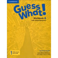 Guess What! American English Level 4 Workbook with Online R