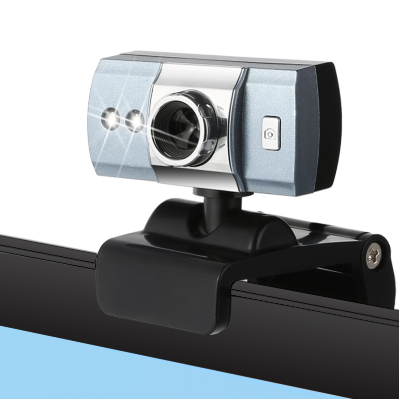 电脑摄像头 免驱带麦克风主播高清夜视直播台式笔记本通用USB视频