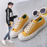 夏季流行女学生鞋女鞋帆布鞋板鞋跑步运动鞋休闲低帮鞋