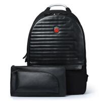 SWISSGEAR瑞士军刀双肩包电脑包男15.6英寸笔记本包 多功能可拆卸两用双肩背包