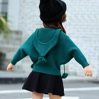 女童秋冬装毛衣套装宝宝小女孩衣服时髦洋气潮
