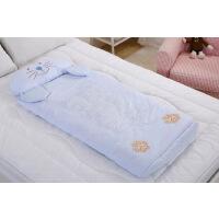 纯棉睡袋 儿童睡袋防踢被 宝宝睡袋婴儿睡袋秋冬款加厚 可拆 120*65