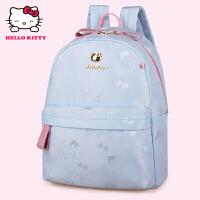 HelloKitty凯蒂猫 KT1137浅蓝 儿童书包 女童韩版甜美 1-3年级减负护脊书包