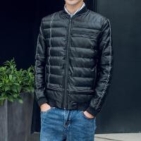 冬季新款皮棉衣男短款青年修身立领棉袄韩版大码加厚pu皮衣外套潮