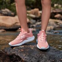 【抢购价:100】361度童鞋 女童运动鞋2021夏季新款男童运动低帮中大童户外网面溯溪鞋N82022611