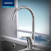 九牧(JOMOO)水龙头冷热厨房洗菜盆全铜主体水笼头洗碗池水槽水龙头3344-050