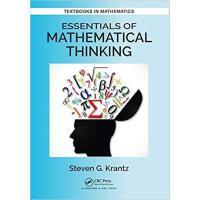 【预订】Essentials of Mathematical Thinking 9781138197701