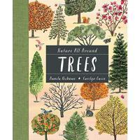 英文原版 世界各地的树 科普绘本 Carolyn Gavin插画 精装 Nature All Around: Trees