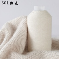 鄂��多斯黑色毛�鄂��多斯市羊�q��山羊�q��C��羊毛�手���巾����� 白色 601白色