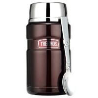 【当当自营】THERMOS膳魔师 焖烧罐焖烧杯710ml高真空不锈钢SK-3020 CBW
