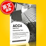 现货 ACCA考试 新版 财务会计 教材 英文原版 Financial Accounting Interactive