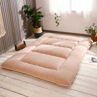 榻榻米床垫褥子 单人学生宿舍床垫双人加厚可折叠地铺垫 1.8*2米