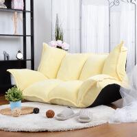 榻榻米沙发床日式多功能小户型单双人折叠沙发懒人布艺沙发可拆洗