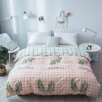被套床单单件纯棉床上用品全棉单人双人床品多规格可选