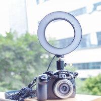 LED摄影灯摄像婚庆摄影灯小型单反相机外拍灯拍照补光灯手持便携打光灯拍摄微距灯光常亮灯珠宝拍照柔光灯