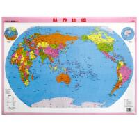 地图社世界地图水晶版 北京钟书