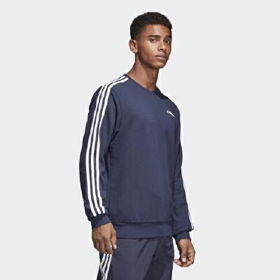 adidas阿迪达斯2018新款男子运动服休闲卫衣圆领针织套衫S98803【正品保证 商场同款 嗨购新春】