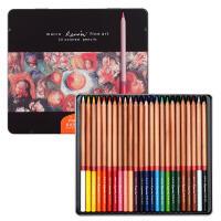 马可(Marco)3100-24TN 雷诺阿系列 24色彩色铅笔/填色笔/彩铅 铁盒装