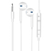 iphone6 6s 5s 6plus苹果手机耳机线三星华为VIVO小米OPPO安卓手机通用线控入耳式