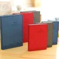 金谷爱在巴黎变色皮日记本笔记本本子记事本复古创意日记本厚大