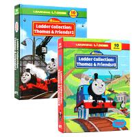 英文原版绘本Thomas and Friends Learning Ladder 3册精装含30个故事 小火车托马斯和