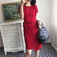 2017夏新款系带桑蚕丝连衣裙