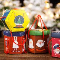 平安果包装盒纸盒子圣诞节小礼品手提儿童创意礼物平安夜苹果糖果