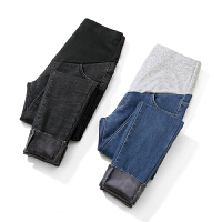 托腹裤小脚裤棉裤冬装孕妇裤子秋冬外穿打底裤孕妇牛仔裤