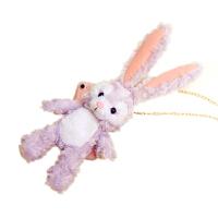 毛绒公仔兔子苹果X手机壳iPhone7plus/8可爱6s斜挎XR卡通XS MAX女 iPhoneXR 立体芭蕾兔