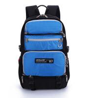 2018新款男士商务双肩包女韩版背包电脑包.6大容量旅行包休闲多功能