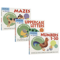 Kumon Grow to Know Ages 3 4 5 Numbers 1-30 Uppercase Letter
