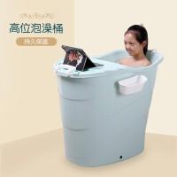 儿童洗澡桶 婴儿游泳桶池泡澡桶宝宝浴桶加大号圆形洗澡盆