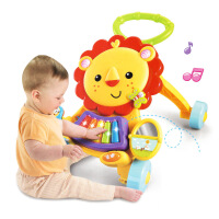 宝宝狮子学步手推车 婴儿手推学步推车儿童玩具1岁.