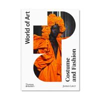现货 Costume and Fashion 服装与时尚 艺术世界历史权威叙述 探讨各个时代服装时尚形式材料 时尚动机展
