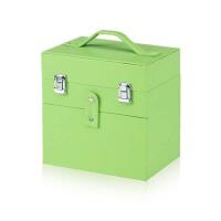工具美甲箱纹绣工具箱手提化妆箱放色料