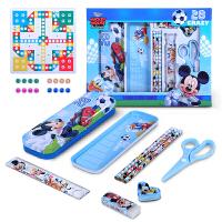 【跨店2件5折】迪士尼文具礼盒套装儿童学生用品学习用品 铅笔盒