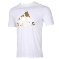 Adidas阿迪�_斯男�b�\�佣绦湫蓍e透��T恤FN1736