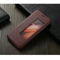 【订做】坚达 手机套 保护套 翻盖手机皮套 适用于华为P10 华为P10PLUS 小羊皮套 全屏钢化膜