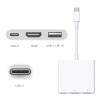 【支持礼品卡】Apple苹果 USB-C转HDMI数字影音多端口转换器 高清线Macbook Digital Multiport Adapter HDMI/标准USB/USB-C充电线缆/转换器 MJ1K2FE/A
