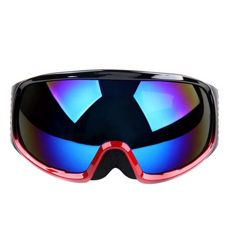 滑雪镜 男女户外双层防雾球面偏光镜可卡近视镜雪地护目镜