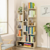 【一件3折】书架落地简约现代置物架书柜落地书架创意小书柜简易架子