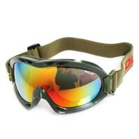 滑雪镜成人 男女儿童滑雪眼镜 情侣运动镜 登山防风护目镜