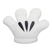 维莱 手掌 抱枕靠垫 手捂礼品 创意 抱枕可爱 卡通 暖手抱枕 布娃娃 白色 44x38厘米