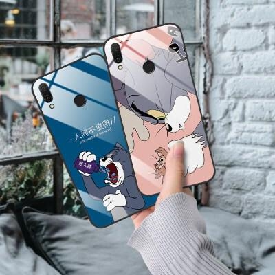 猫和老鼠华为畅享9plus手机壳7s潮mate荣耀8x女nova3玻璃p20pro壳