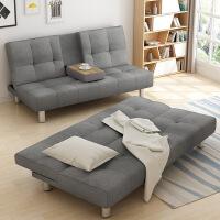 【每满100减50 跨店满99再减15】多功能布艺沙发床简约现代小户型单人双人折叠沙发卧室