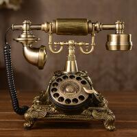 精品欧式仿古电话机 复古转盘电话座机 117AS
