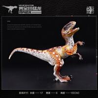 霸王龙侏罗纪野生动物伶盗迅猛龙速龙仿真恐龙模型玩具